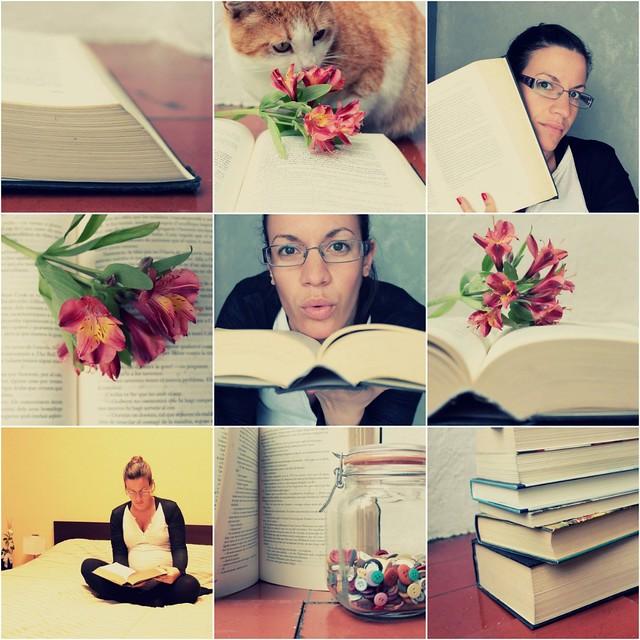 Collage un libro