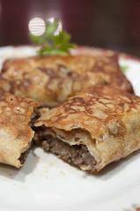 Блинчики с мясом, Кафе РОССИЯ, Kichijoji