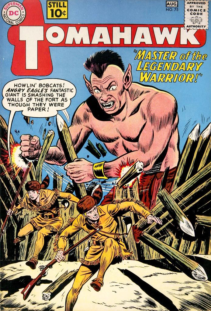 Tomahawk #75 (DC, 1961)