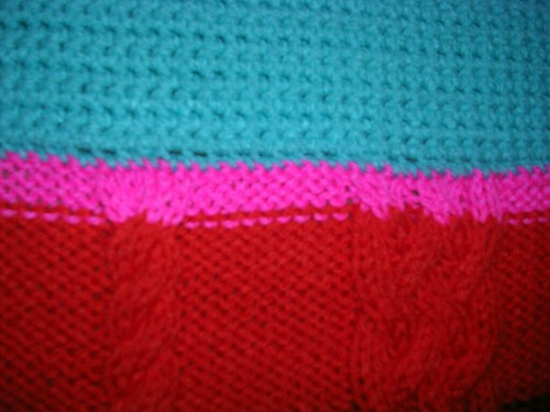 Tree Sweater Seam