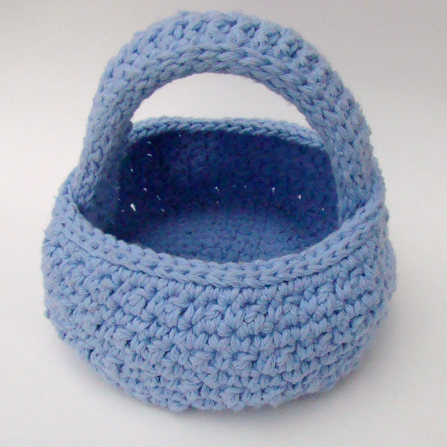 Free Easter Egg Basket Crochet Pattern - Orble