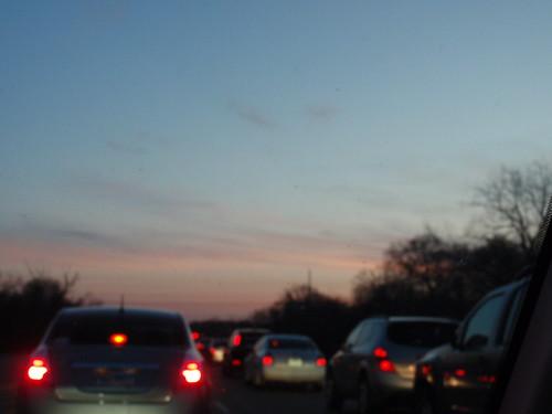 Pre-Race Traffic