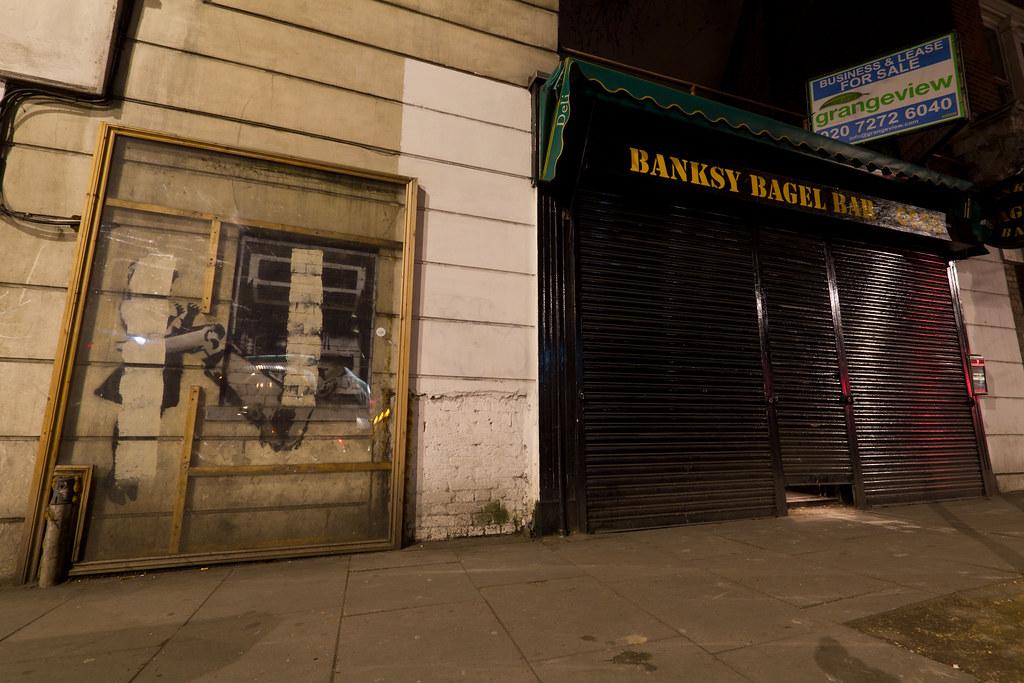 ATM - Banksy Bagel Bar