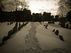 Follow the path (felice_) Tags: travel usa snow cold boston america canon unitedstates freddo viaggio s90 roundtrip