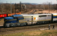 D&H Whitehall NY Nov 1976 (Mark LLanuza) Tags: pa dh alco
