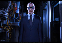 066/365 Information Technology (matthewcoughlin) Tags: computer glasses wiring geek cable business suit rack server computernerd informationsystems speedlite offcameraflash strobist 430exii canon7d 3652011 2011inphotos