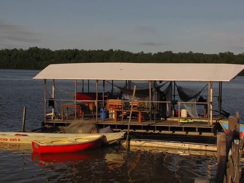 barge de l'auberge du mahury