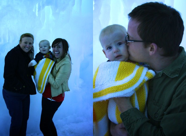 Fam at the Ice Castle