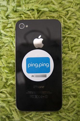 Ping.Ping iPhone