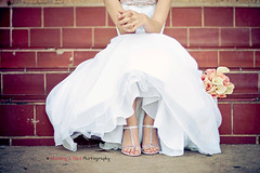 Bridal Bench (Chasing J Bird {rosie.f}) Tags: feet bench bride steps bridalbouquet bridalfeet