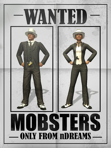 PlayStation Home Mobsters