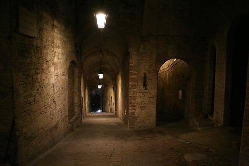 Basement of Rocca Paolini