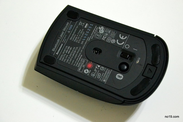 Thinkpad Bluetooth Laser Mouse 藍牙滑鼠