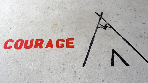 From flickr.com: Courage {MID-98257}