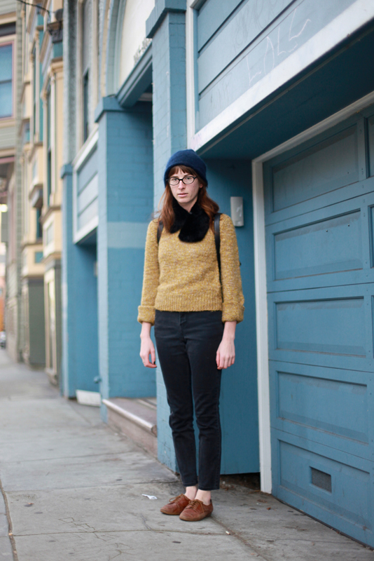 mustard - san francisco street fashion style