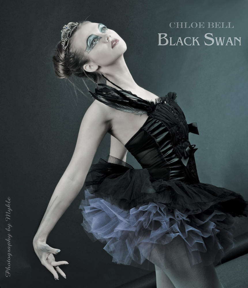 Black Swan make up and costume