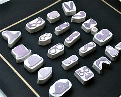 Make me droll hand carved rubber stamps set