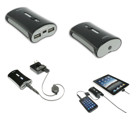 Tekkeon's New Dual Port Power Pack, Certified by Apple for iPod, iPhone and iPad, Charges Two Devices at Once