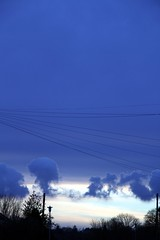 Capture the clouds in the telegraph wires