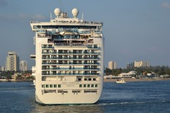 Cruise Ship - Ruby Princess (blmiers2) Tags: cruise fortlauderdale cruiseship sailaway rubyprincess blm18 blmiers2
