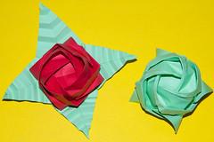 Kawasaki Roses (cjbnc) Tags: origami josephwu toshikazukawasaki origamifortheconnoisseur