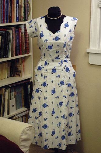 1940 or 1950's Dress