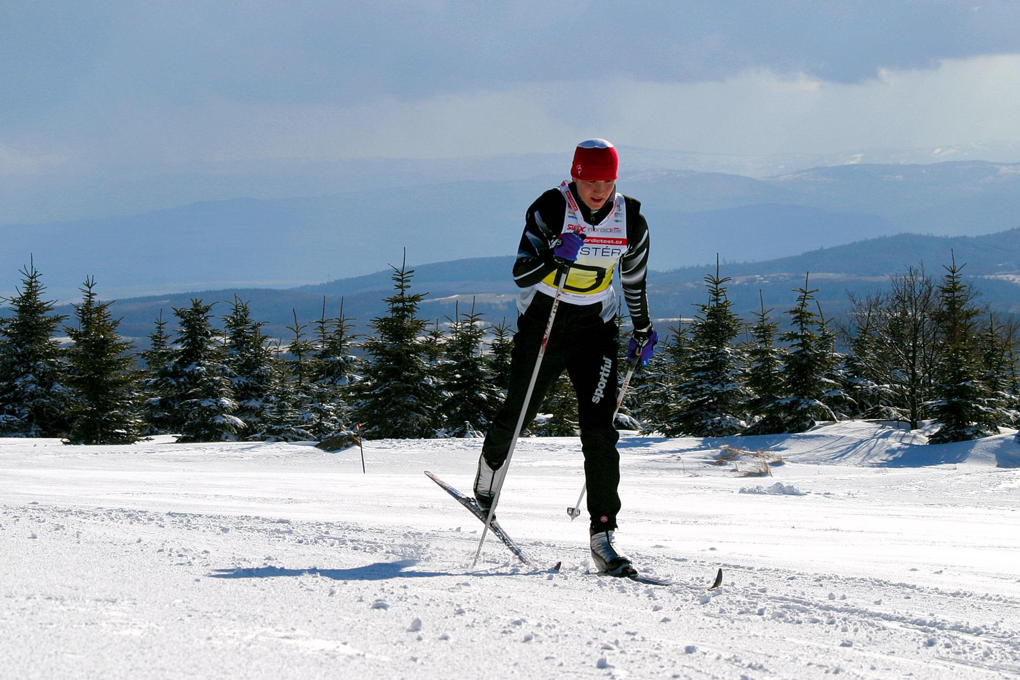 Test běžeckých lyží 2009/10