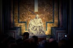 Pieta (Benson Kua) Tags: italy sculpture vatican rome roma church saint st statue italia basilica marble peters michaelangelo pieta mg3155