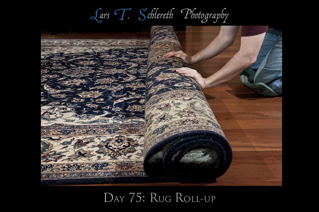 Day 75: Rug Roll-up