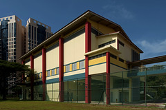 academic facility - indoor sports hall (arkitectural photography) Tags: school urban sports architecture training hall student education singapore ministry indoor ish event moe secondary schools primary ssc cca