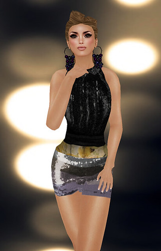 "FAB.PONY ""Sparklez"" Skirt (Highrise)  Relay For Life - Charity Item"