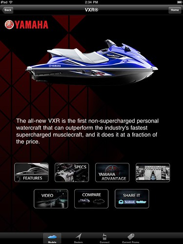app waverunner searay seadoo iphone ipad yamahaboat yamahawatercraft