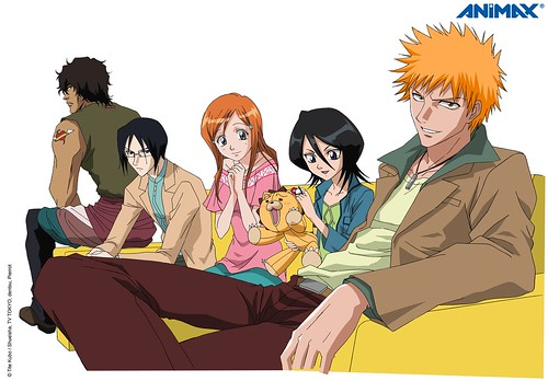 ichigo and friends