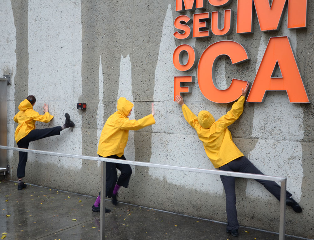 dance anywhere at the Oakland Art Museum