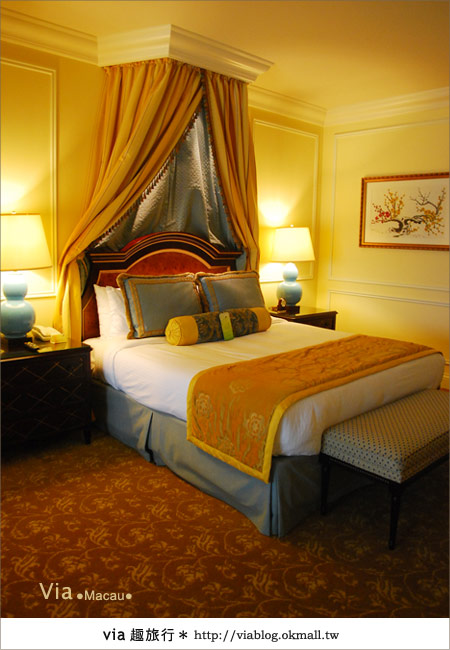 【澳門住宿】澳門威尼斯人酒店~享受奢華的住宿風格!29