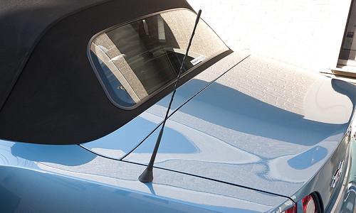 BMW E85 Z4 Antenna before