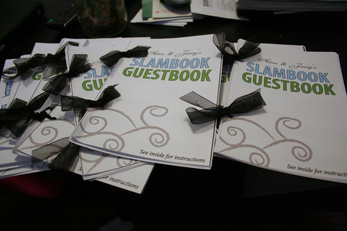 Reception slambooks