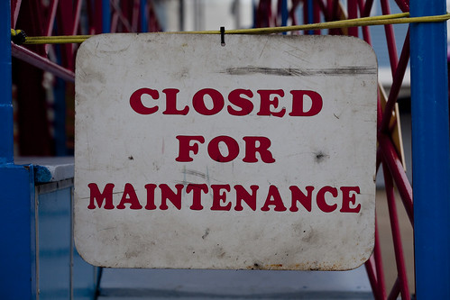 Closed For Maintenance by neonbubble, on Flickr