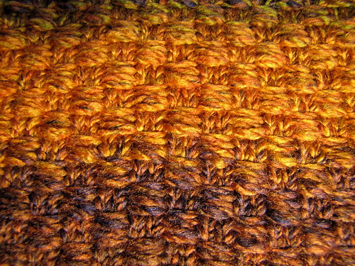 Basketweave slip-stitch