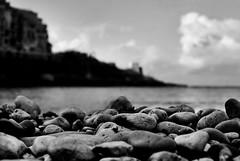 You... (Gremxul) Tags: sea blackandwhite seascape black detail water monochrome clouds composition contrast 35mm island nikon bokeh perspective highcontrast shades shade nikkor gozo xlendi d80 blackwhitephotos nikond80 nikkor35mm unusualviewsperspectives gremxul gimaltajuly