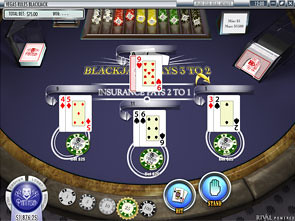 Multi-Hand Blackjack