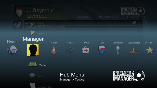 Premier Manager – Exclusive PSN Soccer Management Game