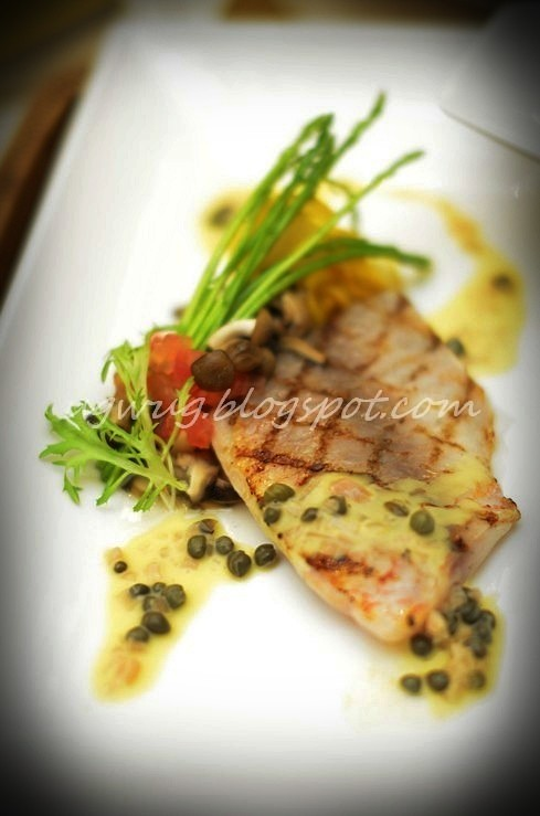 Char-grilled Fillet of Redfish
