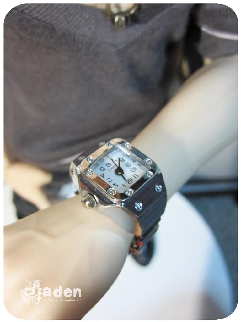 Jaden's new watch