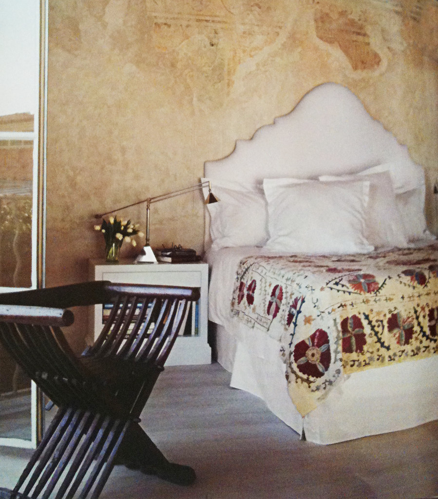 beds, spanish master bedroom and bed in architectural digest magazine spring 2011, spanish rustic decor, rustic spanish bedroom, 2