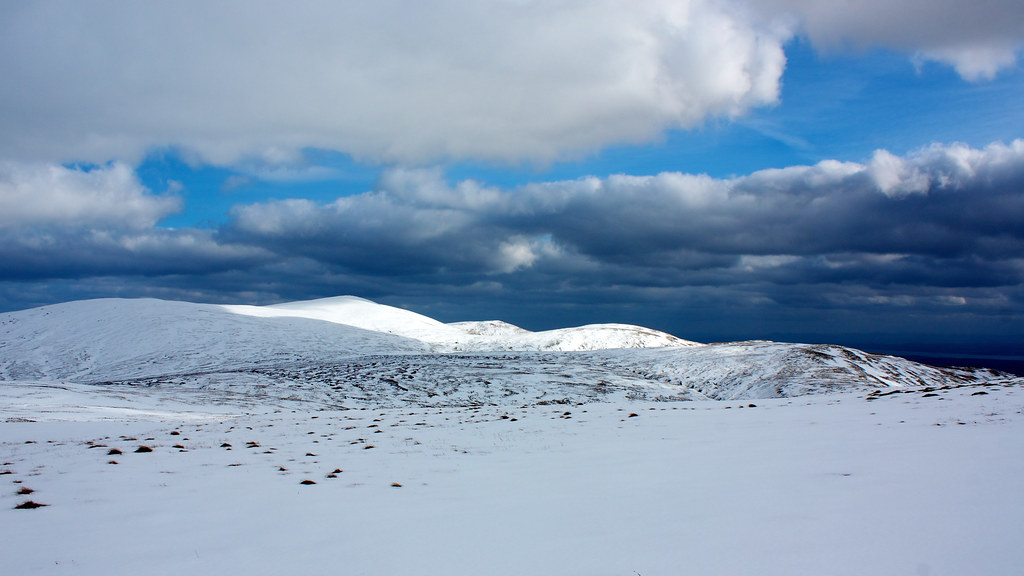 Ben Cleuch and the Ochils