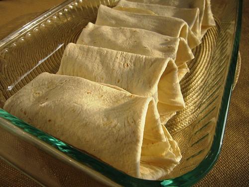 On an enchilada roll