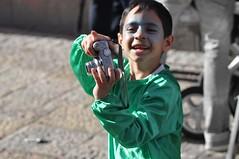 A Purim Dream (Gali-Dana) Tags: boy green children israel costume photographer child clown jerusalem purim masquerade  fancydress  masque                galidana