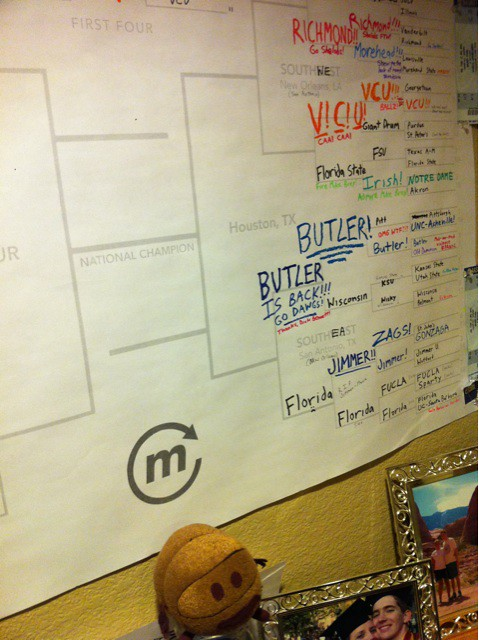 Okay, VCU and Richmond. Your turn to keep the right side of my AYG #GiantBracket looking increasingly ridiculous.