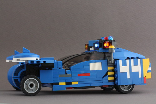 Lego Blade Runner Spinner - a photo on Flickriver